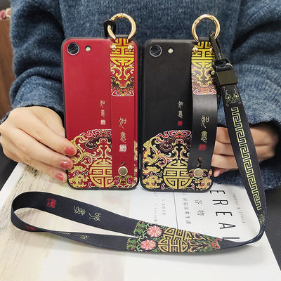 vivox9手机壳女网红情侣中国风x9plus创意支架x9s防摔硅胶保护套