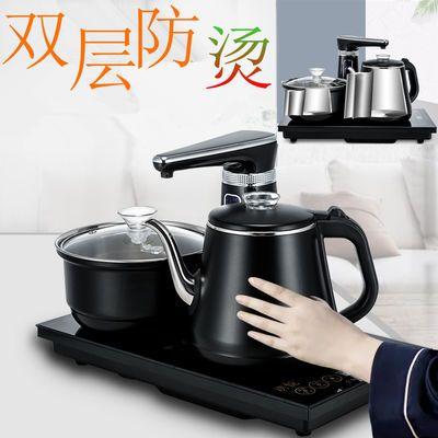 全自动电茶壶 烧水壶 电热茶炉 茶盘用电磁茶炉 不锈钢养生快速壶