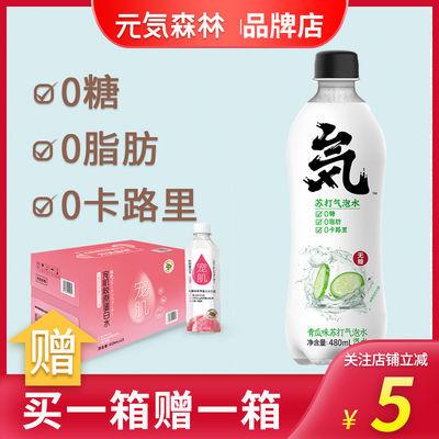 【大日期】元气森林元�萆�林青瓜气泡水宠肌胶原蛋白水组合装