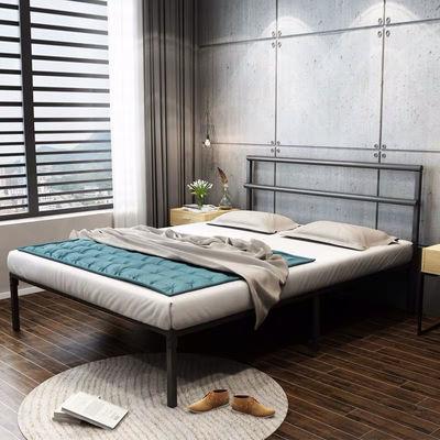 (特价)简约现代铁床150双人家用铁艺床单人床架成人北欧床120