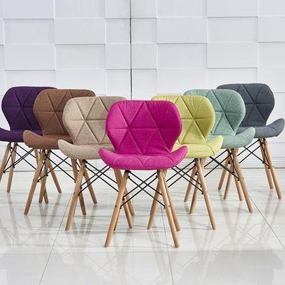 椅子现代简约家用伊姆斯椅凳子网红靠背书桌北欧餐椅懒人学生桌椅