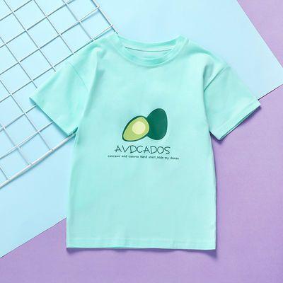 女童T恤短袖薄款2020夏装新款洋气大童夏季半袖女宝宝儿童上衣潮