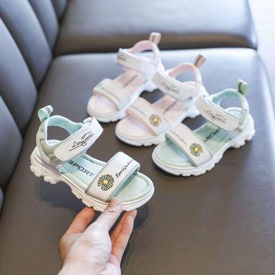 女童凉鞋2020夏季新款中大童公主儿童鞋子软底洋气小女孩宝宝凉鞋