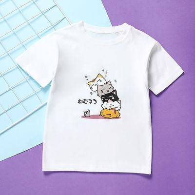 女童短袖t恤2020新款夏季薄款大童洋气夏装童装纯棉宝宝儿童上衣