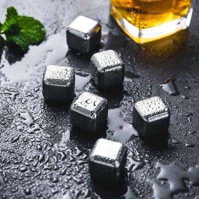 304食品不锈钢 冰块冰粒金属循环 冰酒石速冻 威士忌冰镇神器冰粒