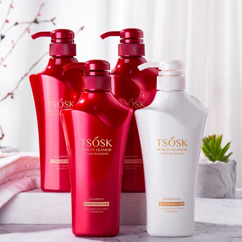 正品洗发水香味持久大容量丝滑柔顺护发素沐浴露温和润肤锁水套装