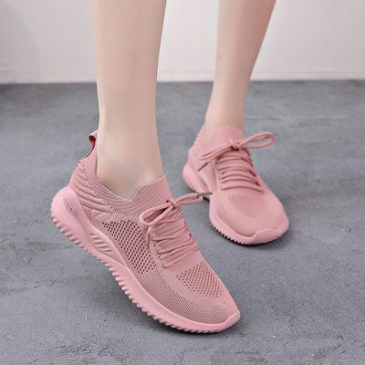 女鞋夏季透气网面运动鞋女休闲跑步鞋子韩版小白鞋女学生旅游鞋潮