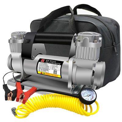 车载充气泵双缸12V220V24V大功率480W货车客车农用车越野车打气泵