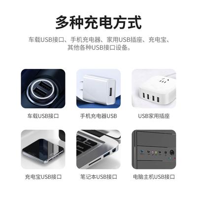 车载吸尘器无线充电车用家用大功率两用迷你小型手持式桌面USB
