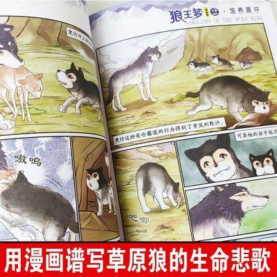 打折狼王梦漫画版 全套6册 沈石溪动物漫画王国 中国卡通动物小说
