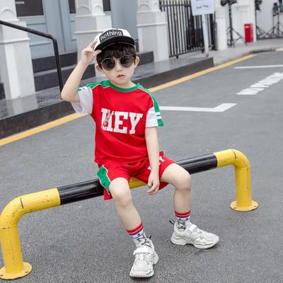 童装男儿童速干衣男童套装夏季短袖2020童装新品男童篮球服小学生