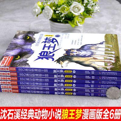 甩卖6册沈石溪动物漫画王国狼王梦 四五六年级课外书经典畅销童书