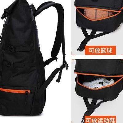 新款双肩包超大容量篮球包训练包健身装备运动背包男登山包旅行包