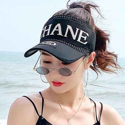 夏季户外男女士运动网球帽无顶太阳帽遮阳帽棒球帽子韩版潮空顶帽