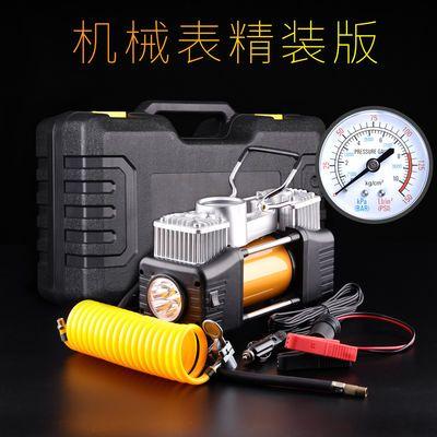 车载充气泵双缸高压12v便携式车用打气泵多功能小轿车轮胎加气泵