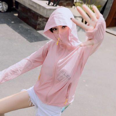 防晒衣女2020夏季新款短款薄外套潮骑车长袖防晒服大码空调防晒衫
