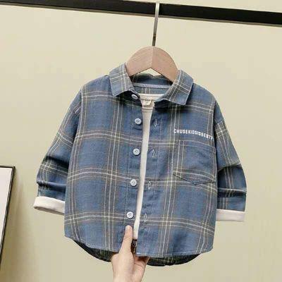 夏季男孩短袖衬衫13岁初中学生14韩版15大童16衬衣17高中生18