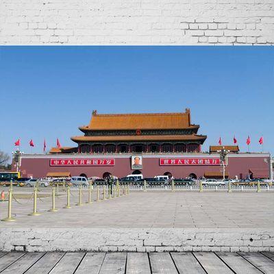 北京天安门广场城楼英雄纪念碑建筑人文景观摄影旅游海报装饰画10