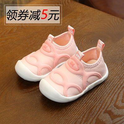宝宝学步鞋婴儿软底夏天0岁1婴幼儿运动鞋8防滑9女宝宝6-12个月10