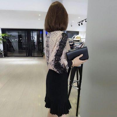 欧洲站春装女2020新款欧货潮蕾丝港味女士上衣宽松设计感小众衬衫