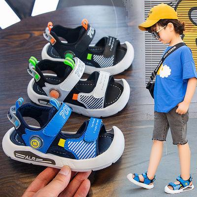 男童凉鞋2020新款夏季时尚包头中小童宝宝轻便软底女童运动沙滩鞋