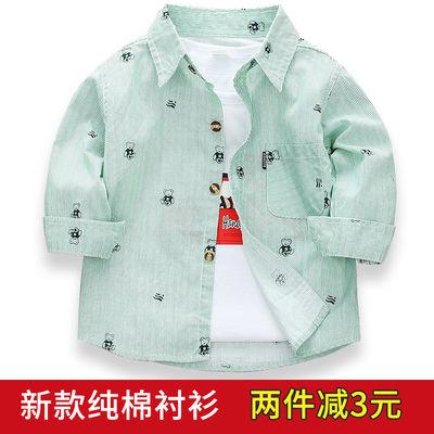 男大童格子衬衫长袖12青少年13高中初中学生15岁男孩衬衣春秋