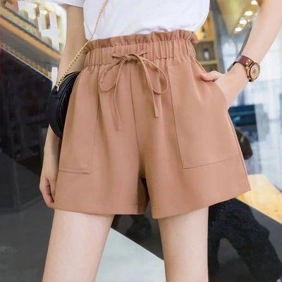 中年夏季女裤薄款高腰直筒童牛仔短子七分大码胖m冰丝宽松超显瘦