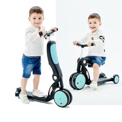 Freekids儿童滑板车1-3-6岁男女小孩多功能五合一宝宝推车平衡车