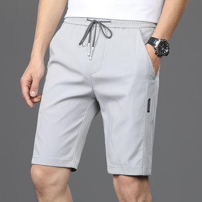 短裤男五分裤男夏季薄款锦纶裤子男青春潮流男士休闲裤修身中裤潮