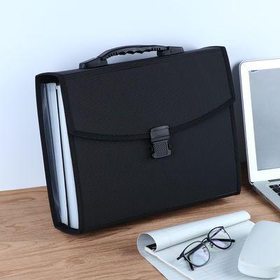 学生多层文件袋文件夹26层风琴包A4手提试卷夹卷子收纳盒资料册