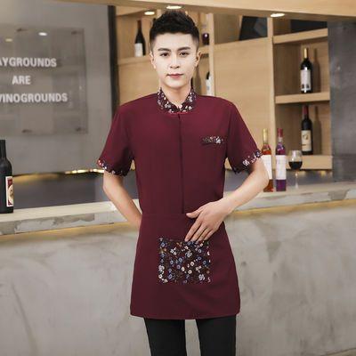 服务员工作服短袖酒店中式茶楼餐厅餐饮服装火锅店饭店制服夏装女