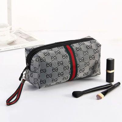 随身化妆包便携大容量韩国简约手拿学生迷你小号化妆品洗漱收纳包