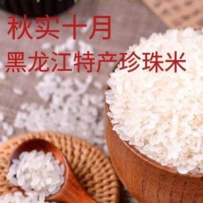 【4】2019新米长粒香稻花香珍珠米圆粒米蟹田米黑龙江大米5斤10斤