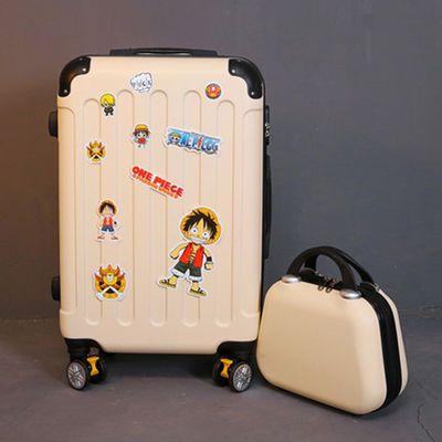 行李箱拉杆箱女旅行箱皮密码箱小学生书包登机男大学生包邮万向轮