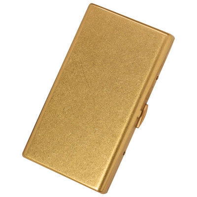 KUBOY酷宝 细烟烟盒20支装 超薄便携创意防压女细支香烟盒铜刻字