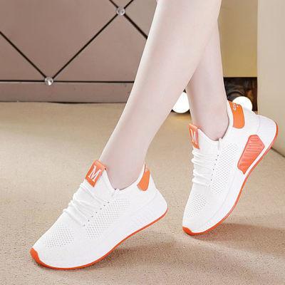 女鞋夏季韩版百搭运动鞋女透气小白鞋学生休闲网鞋2020新款鞋子ZX