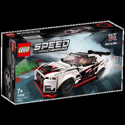 乐高积木 3月新品Speed Champions76896Nissan 赛车积木 跑车玩具