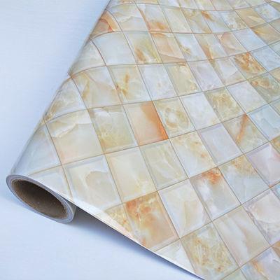 pvc厨房防油贴纸灶台用防水加厚耐高温自粘墙贴橱柜桌面台面贴纸