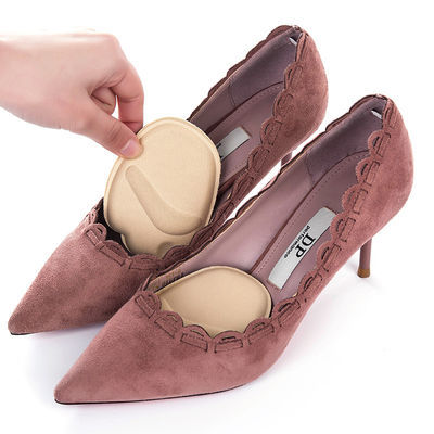 运动鞋垫休闲前脚掌垫垫贴5双前掌垫高跟鞋鞋垫女半码垫海绵半垫