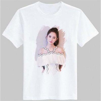 陈钰琪周边同款短袖t恤写真海报男女粉丝后援会上衣服半袖衫圆领