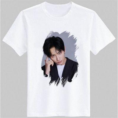 李宏毅周边同款短袖t恤写真海报男女粉丝后援会上衣服半袖衫圆领