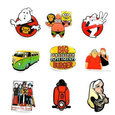 58张animal卡通防水趣味滑板贴画旅行箱冰箱玩具头盔车身涂鸦贴纸