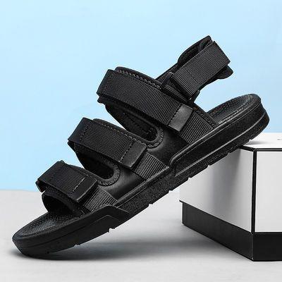 夏季男凉鞋2020新款沙滩鞋两用时尚凉拖韩版潮流休闲外穿男士拖鞋
