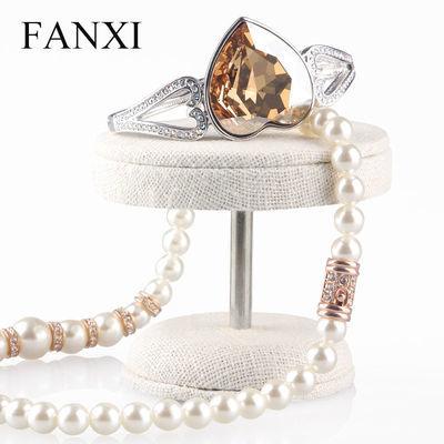 FANXI麻布小号创意首饰架珠宝饰品展示架道具托MB017