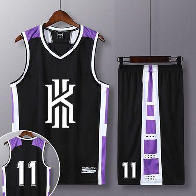 新款科比篮球服套装男定制詹姆斯23号球衣儿童训练球队比赛球衣篮