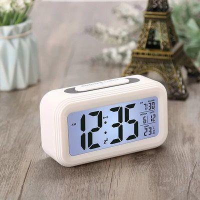 【送电池】学生创意闹钟智能儿童电子静音床头卧室夜光贪睡聪明钟