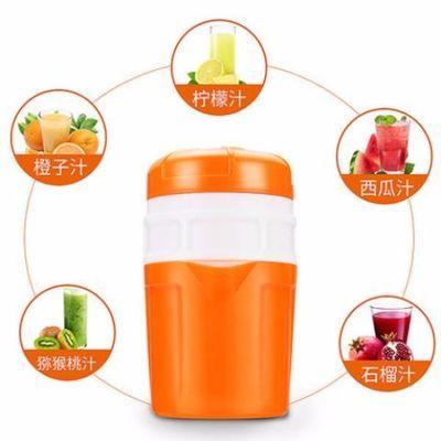 美之扣手动榨汁机橙子器不锈钢手动果汁机家用石榴柠檬压榨机