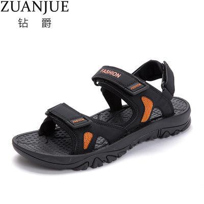特大码男士凉鞋两用45夏季新款越南拖鞋46潮流运动47休闲沙滩鞋4