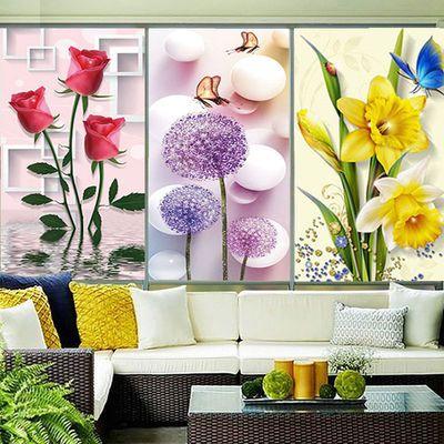 窗户静电磨砂玻璃贴纸浴室遮光贴膜卫生间防窥透光不透明窗花纸
