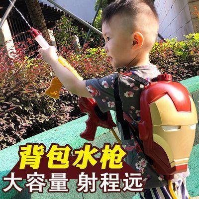 儿童背包水枪玩具抽拉式男孩宝宝女孩沙滩小孩喷水枪戏水枪滋水枪